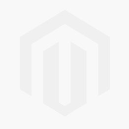 Arista Sterling Silver Engraved Flower Charm with Garnet Gemstone & 18k Yellow Gold Accents