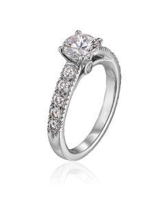 Scott Kay Platinum 0.75 carat Contemporary Semi Mount