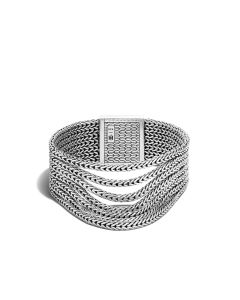 John Hardy Sterling Silver Classic Chain Multi-Row Clasp Bracelet