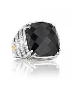 Tacori 18k925 Black Onyx Ring