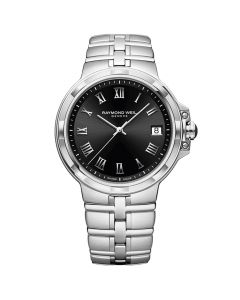 Raymond Weil Men's Parsifal Classic Black Dial 41MM Watch
