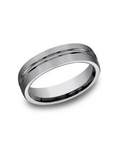 6mm Tungsten Wedding Band