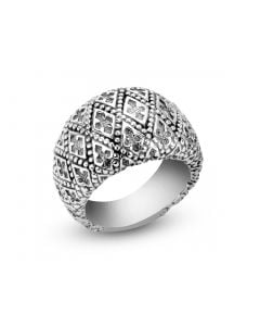 Scott Kay Sterling Silver Recessed Cross Ring