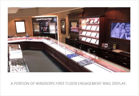 Windsor Engagement Ring Display