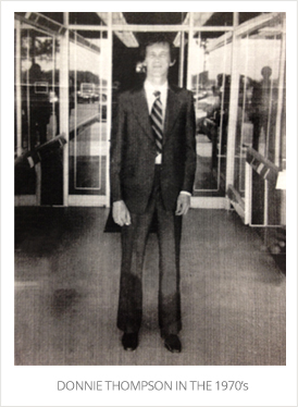Donnie Thompson 1970's
