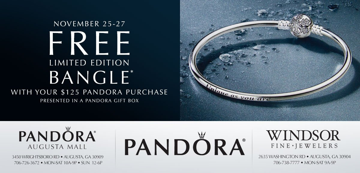 pandora black friday 2019 bracelet