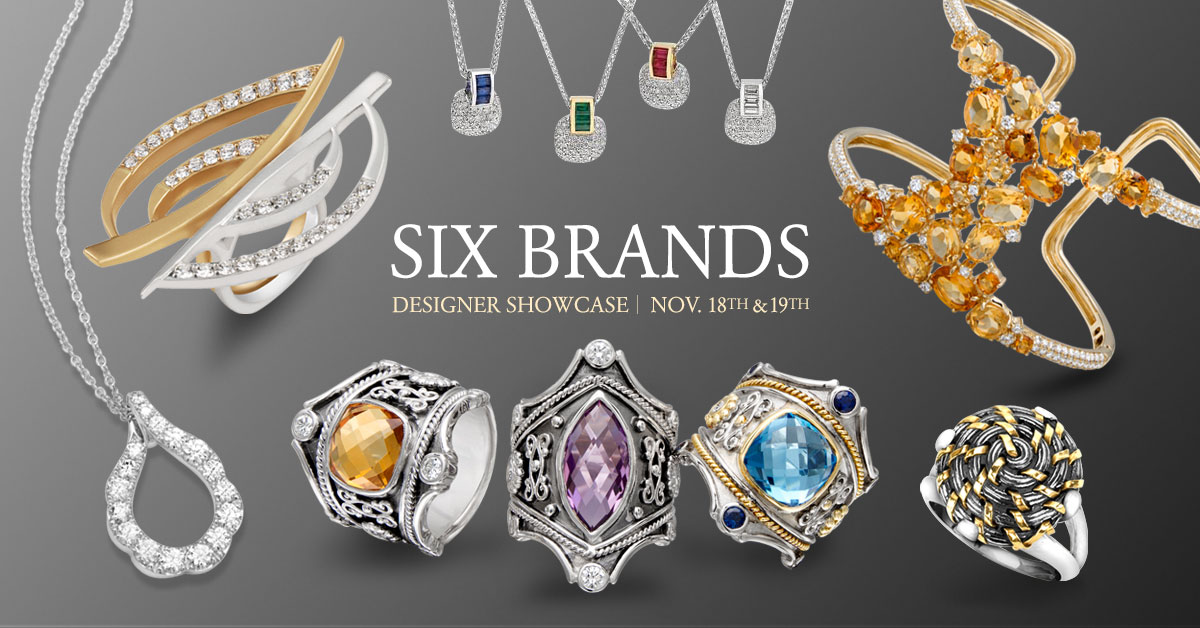 072304548 ... November 18th & 19th, we're having our 2016 Fall Showcase that presents  an eclectic selection of 6 incredible designers of fine jewelry.